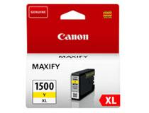 Bläck Canon 1500XL 9195B001 935 sidor gul