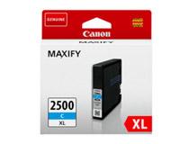 Bläck Canon 2500XL 9265B001 1,75k cyan