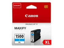 Bläck Canon 1500XL 9193B001 1,02k cyan