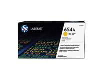 Toner HP 654A CF332A 15k gul