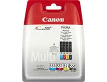 Bläck Canon CLI-551 CMYK 4st/fp