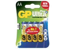 Batteri GP Ultra Plus Alkaline AA/LR6 4st/fp