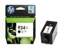 Bläck HP No 934XL 1k svart