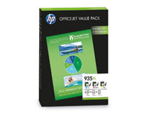 Bläck HP No 935XL CMY Value Pack