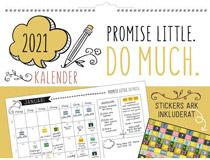 Väggkalender Doodle 2021
