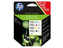Bläck HP No920 XL 4-pack
