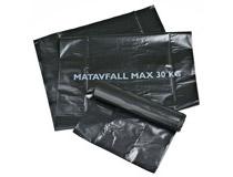 Sopsäck Matavfall 60l svart 6x25st/rulle