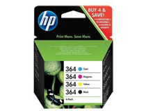 Bläck HP No364 CMYK 4st/fp