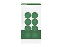 Magnet rund 20mm grön 8st/fp