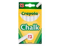 Tavelkrita Crayola vit 12st/fp