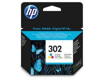Bläck HP 302 165 sidor 3-färg CMY