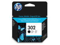 Bläck HP 302 190 sidor svart