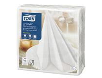 Servett Tork LinStyle 39x39 1-lag vit 50st/fp