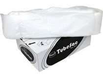 Sopsäck Tubesac 100m stor transparent