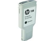 Bläck HP No 728 300ml mattsvart