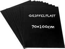 Griffelplast 70x100cm 10st/fp