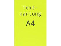 Kartong A4 fluorescerande gul 260g 25st/fp