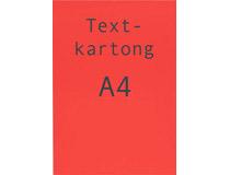 Kartong A4 fluorescerande röd 260g 25st/fp