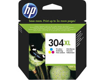 Bläck HP No 304XL 3-färg CMY