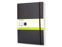 Anteckningsbok Moleskine Classic XL Soft olinjerat svart