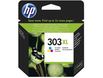 Bläck HP No303 XL 600 sidor svart