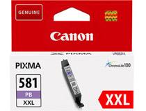 Bläck Canon CLI-581PB XXL 11,7ml blå