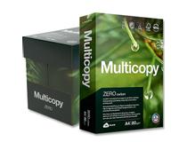 Kopieringspapper MultiCopy Zero A4 HÅLAT 80g 5x500st/kartong