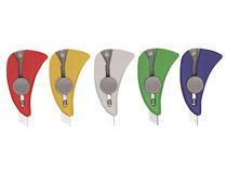 Brytkniv Quick Knife sorterade färger