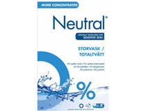 Tvättmedel Neutral pulver Totaltvätt 8,92kg