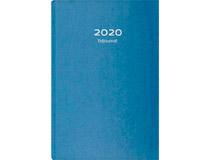 Tidjournal blått kartongomslag 2021