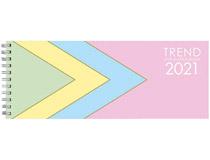 Plankalender stor Pastell 2021