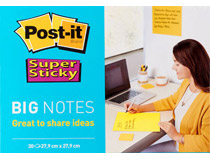 Post-it Big Notes 27,9x27,9cm gul