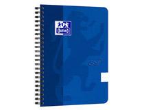 Kollegieblock Oxford Touch A5 90g linjerat blå