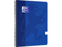 Kollegieblock Oxford Touch A4 90g linjerat blå