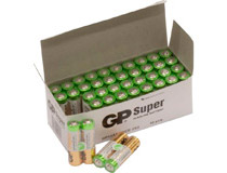 Batteri GP Super Alkaline AAA/LR03 40st/fp
