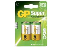Batteri GP Super Alkaline C/LR14 2st/fp