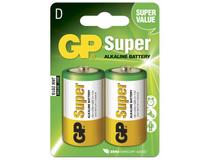 Batteri GP Super Alkaline D/LR20 2st/fp