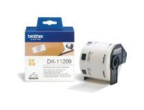 Etikett DK11208 38x90mm vit 400st/rl