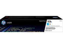 Toner HP 117A W2071A 700 sidor cyan