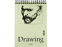 Teckningsblock 40blad 135g A4 10st/fp