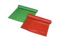 Sopsäck 125l röd 25st/rulle