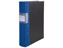 Träryggspärm A4+ system blå