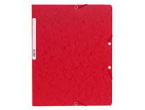 Snoddmapp A4 röd