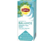 Te Lipton Green Tea Mint 25st/fp