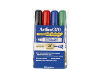 Blädderblockspenna Artline 370 Flipchart 4st/set