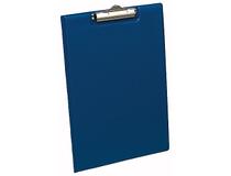 Skrivplatta A4 med omslag blå