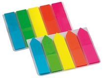 Märkflikar pilar 12x45mm neon 5x25st/fp