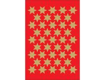 Klistermärken guldstjärnor 123st/fp