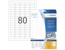 Etikett Herma Special avtagbar 35,6x16,9mm 2000st/fp