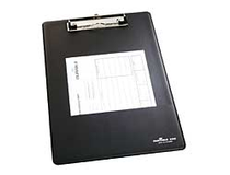 Skrivplatta A4 enkel svart